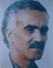The artist Boujemâa Lakhdar (1941-1989)